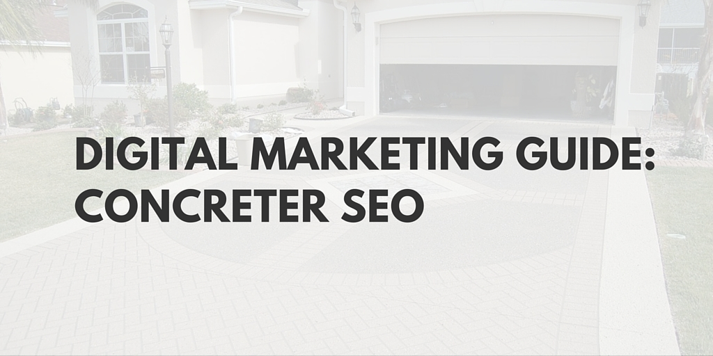 Marketing Concreting SEO