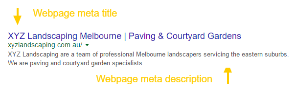 Landscaping SEO
