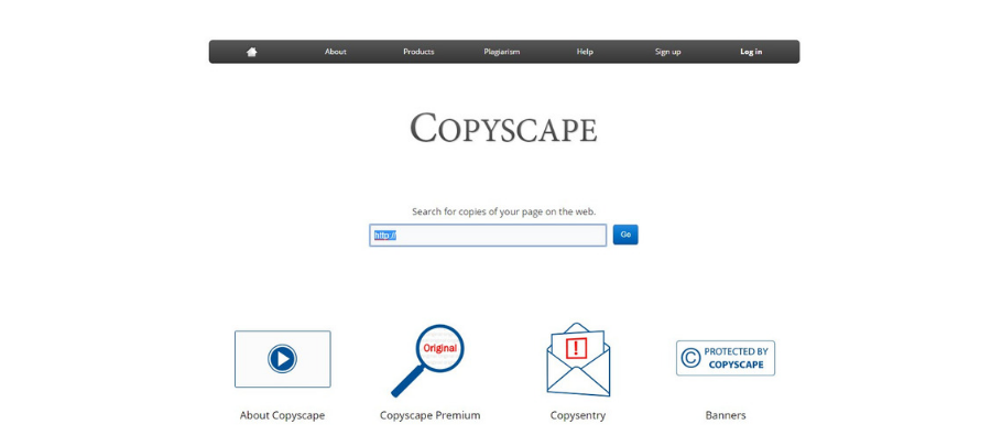 CopyScape Dashboard