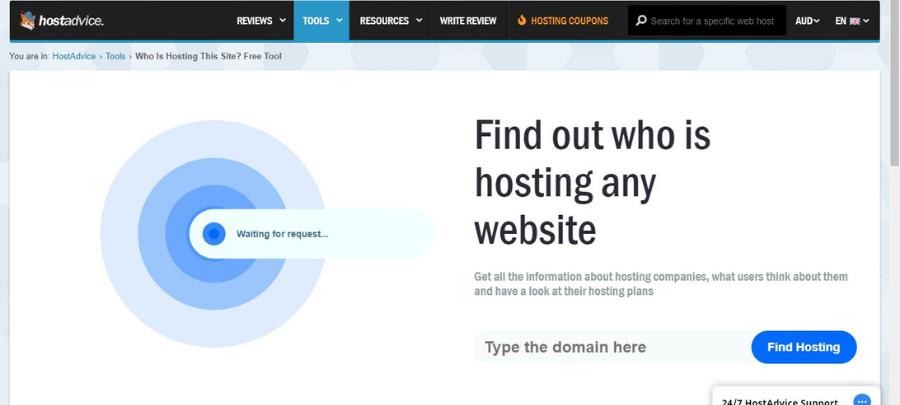 HostAdvice Homepage