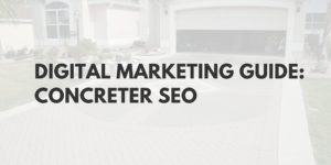 marketing for concreters & concreting company SEO