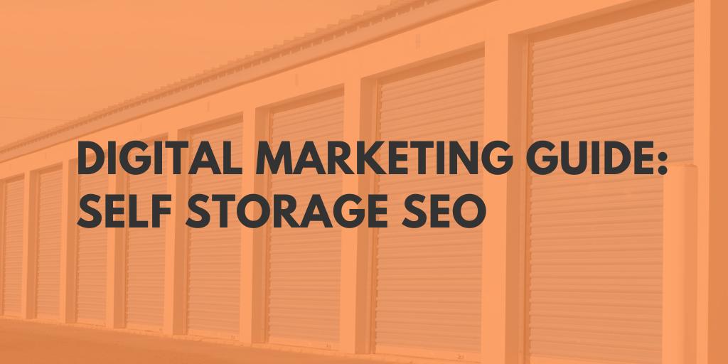 self storage marketing