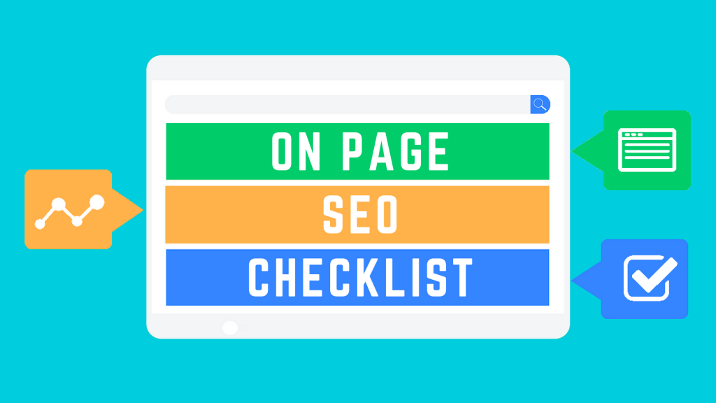 on page seo checklist
