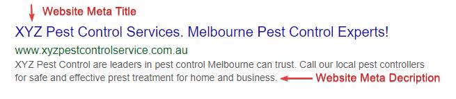 pest control meta