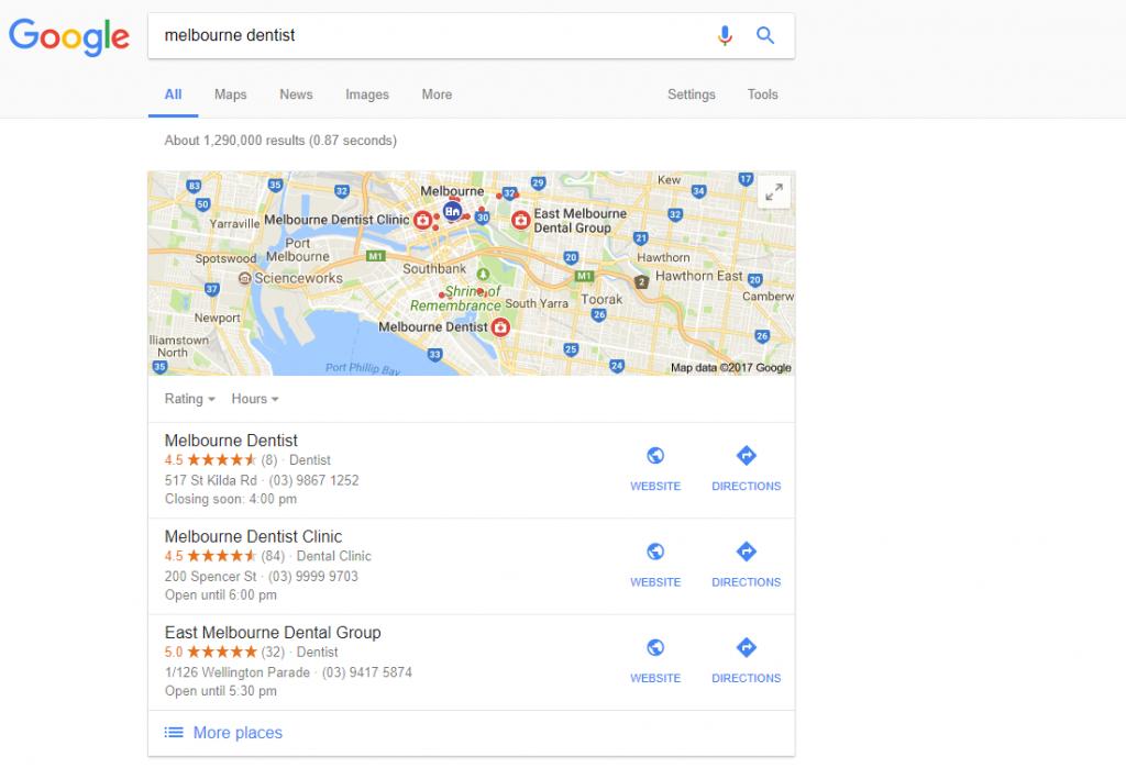 google location knowledge graph